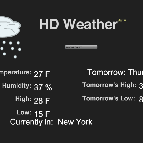 Picture of HD Weather