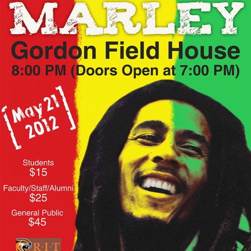 Picture of Bob Marley Poster