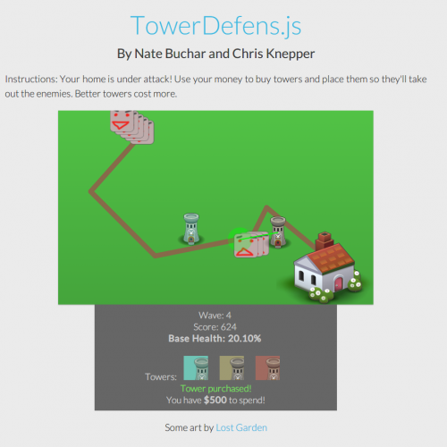 Picture of TowerDefens.js